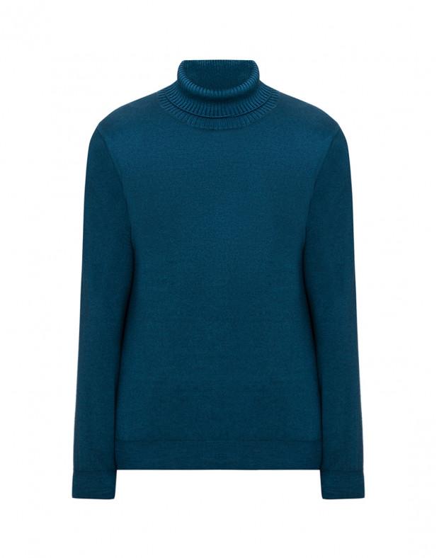 Мужской зеленый шерстяной свитер