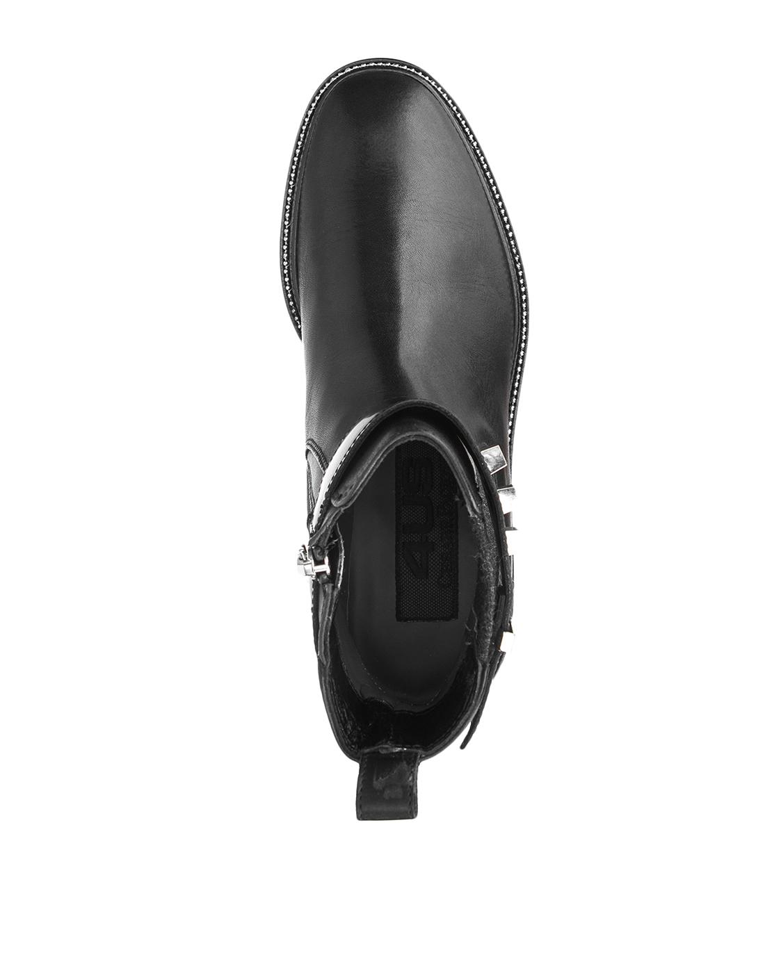 Ботинки черные женские
