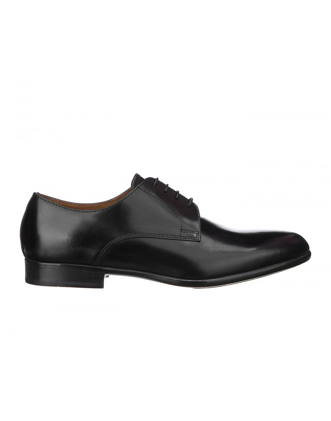 Туфли черные мужские Doucal's SU1346-1