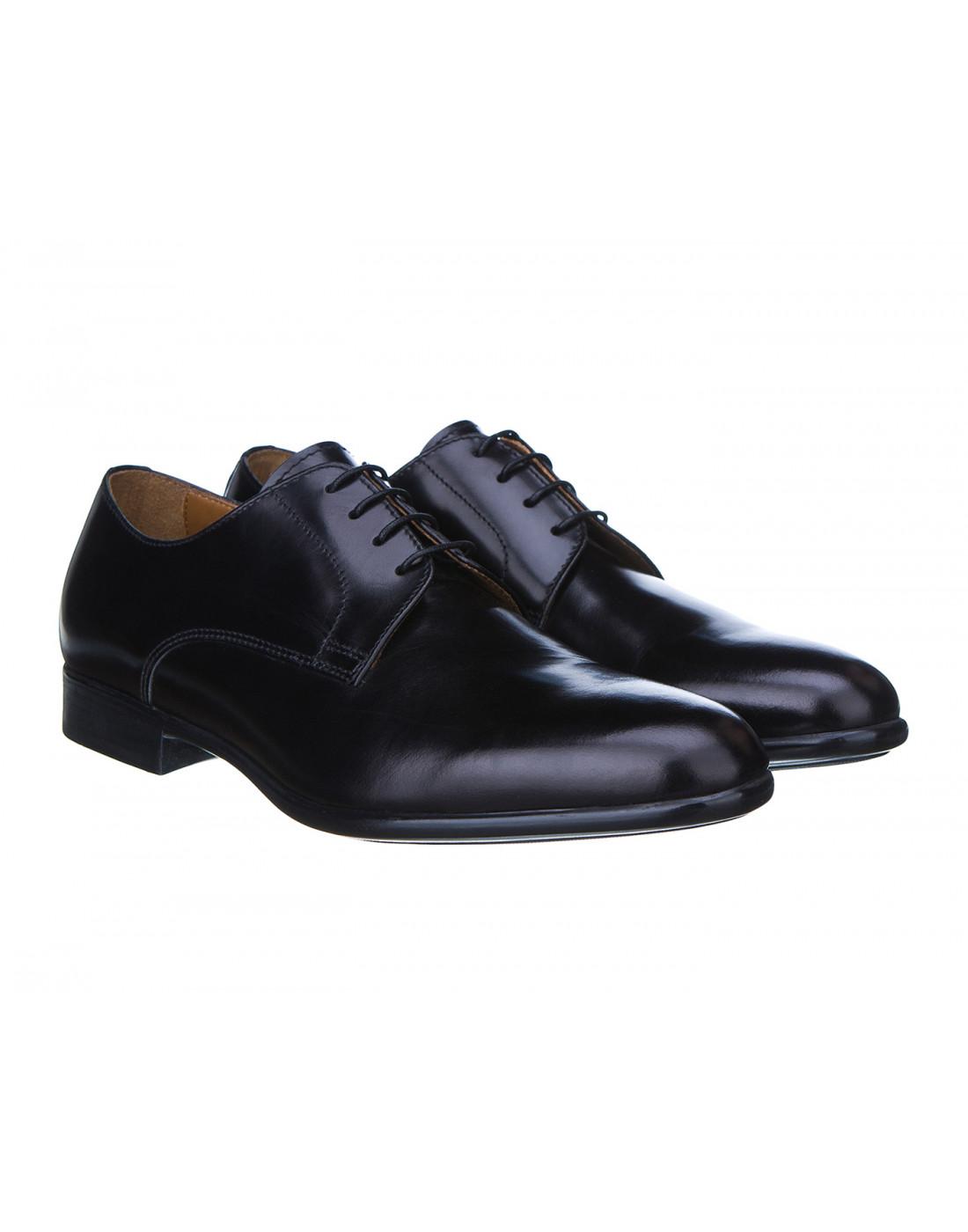 Туфли черные мужские Doucal's SU1346-2