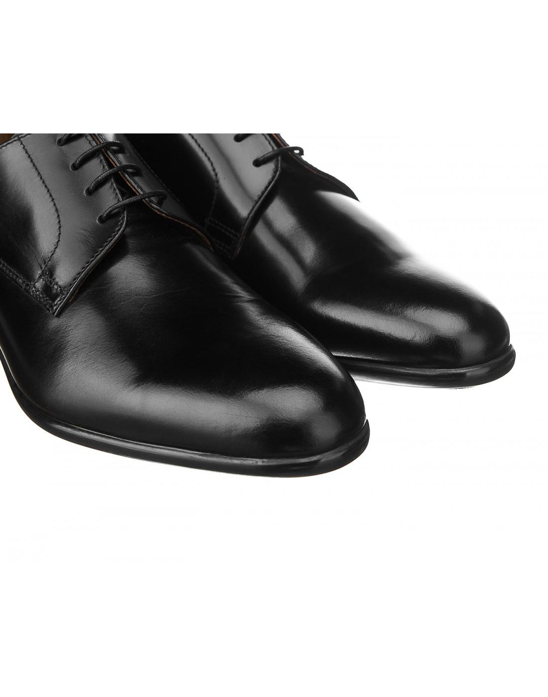 Туфли черные мужские Doucal's SU1346-4