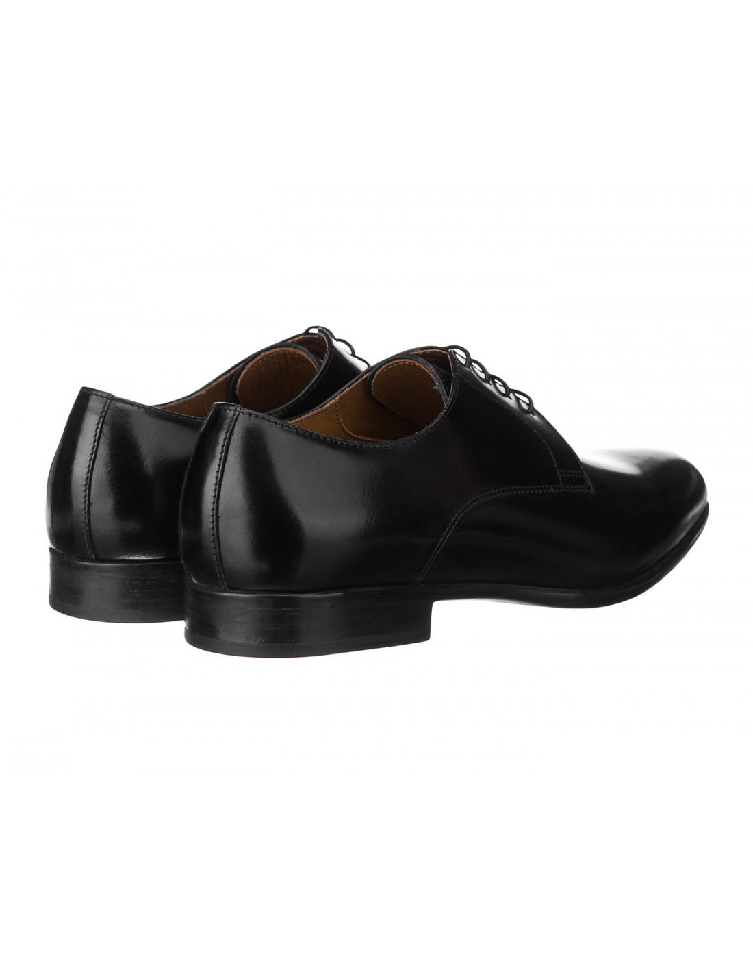 Туфли черные мужские Doucal's SU1346-3