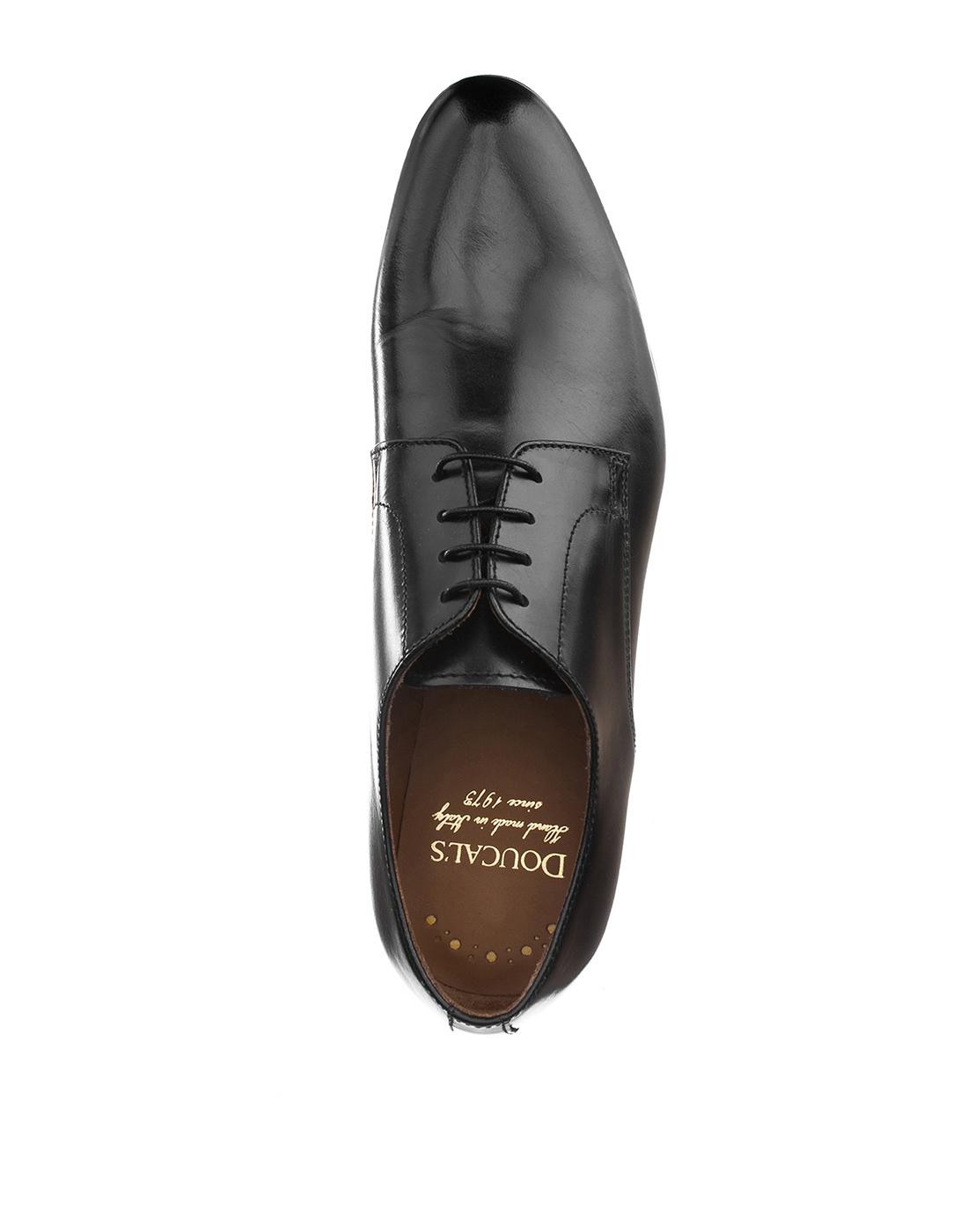 Туфли черные мужские Doucal's SU1346-5
