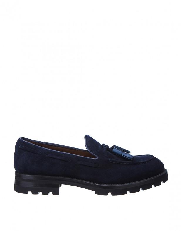 Туфли синие мужские