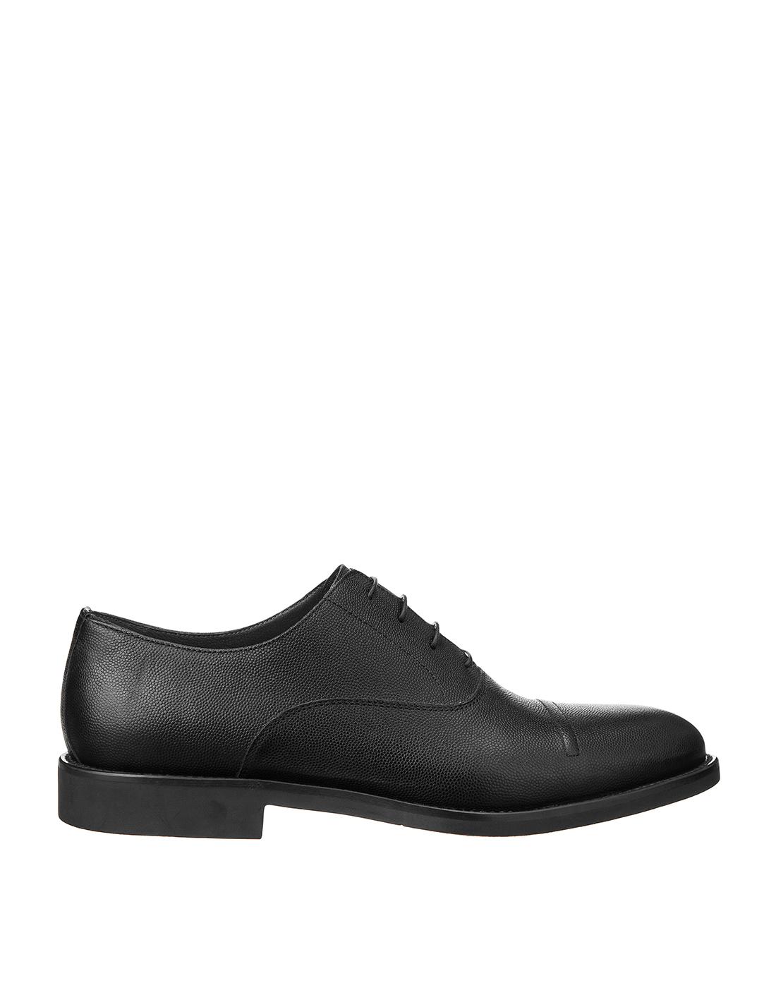Туфли черные мужские Moreschi S42778-1