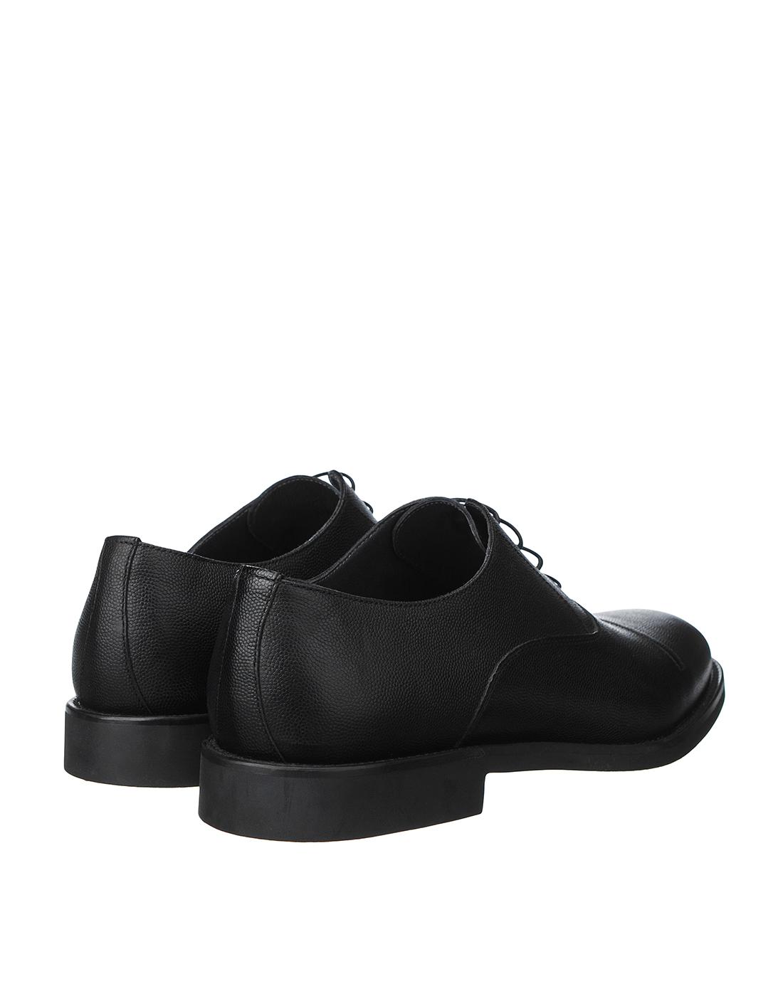 Туфли черные мужские Moreschi S42778-3