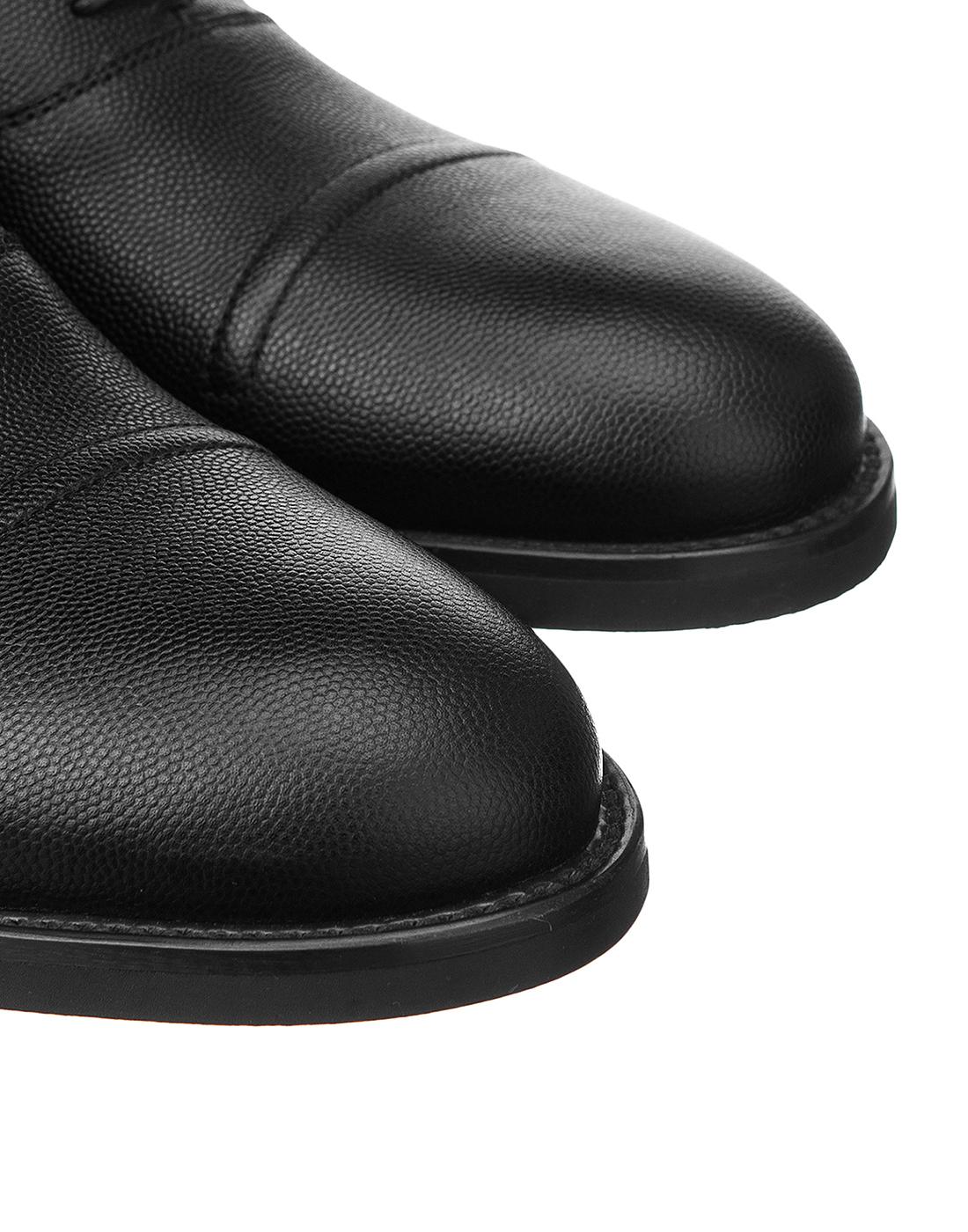 Туфли черные мужские Moreschi S42778-4
