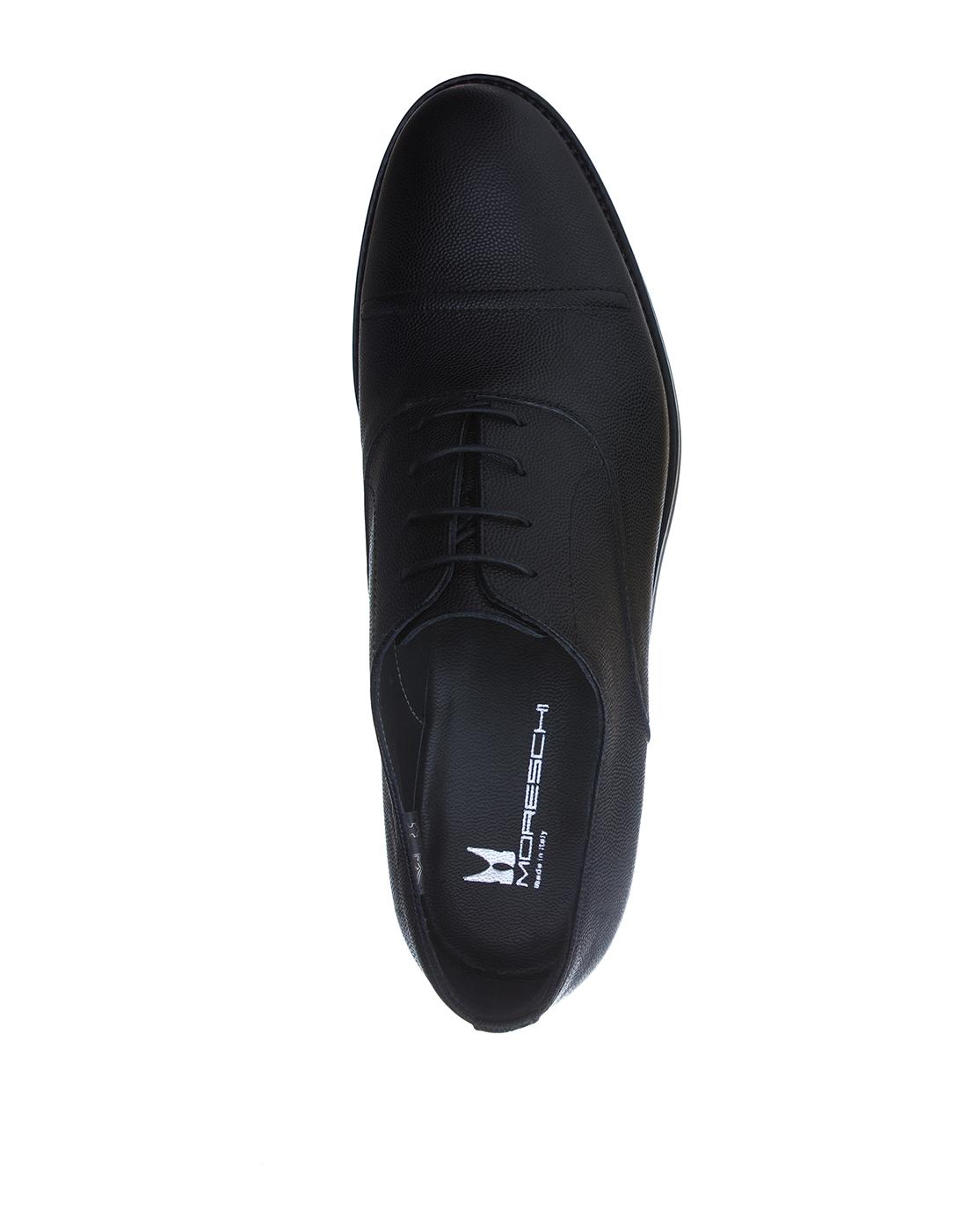 Туфли черные мужские Moreschi S42778-5