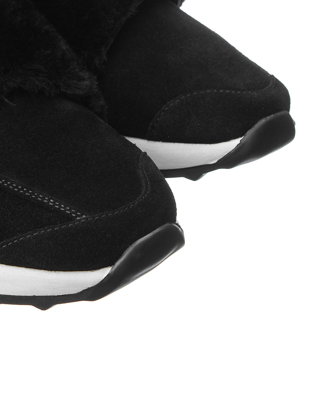 Кроссовки черные женские  A.Guardiani S61421-SF00-4