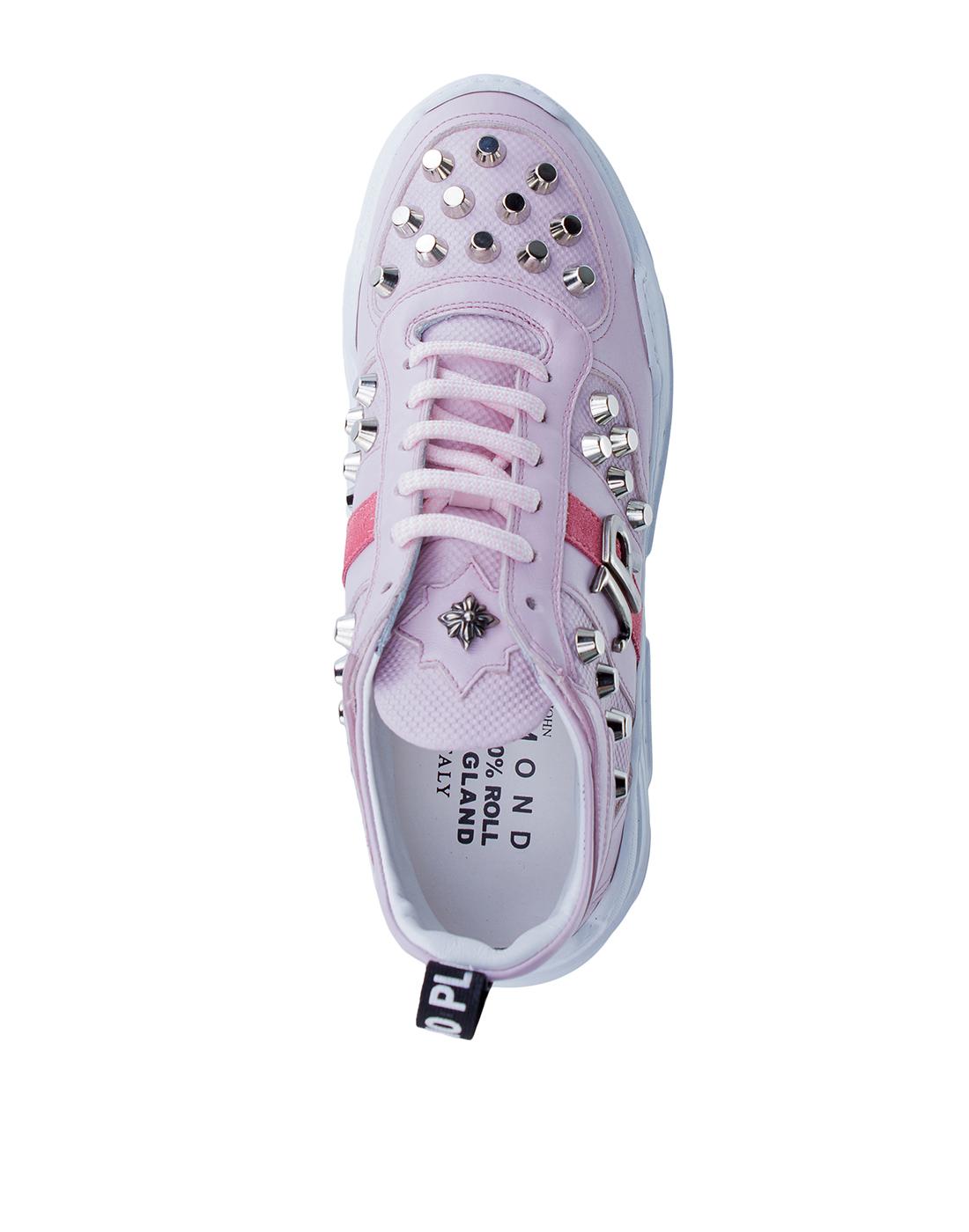 Кроссовки розовые женские