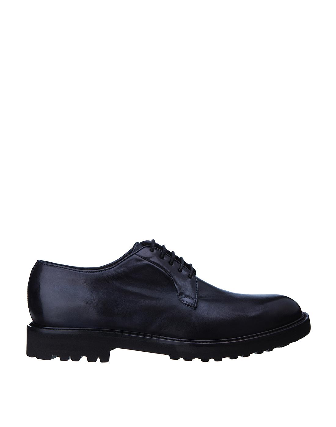 Туфли синие мужские Brecos S8066-1