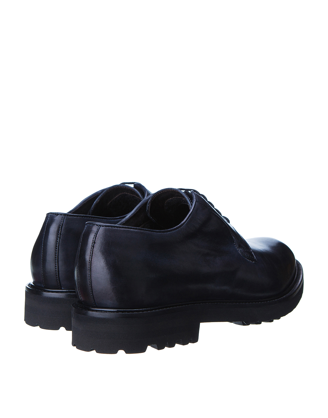 Туфли синие мужские Brecos S8066-3