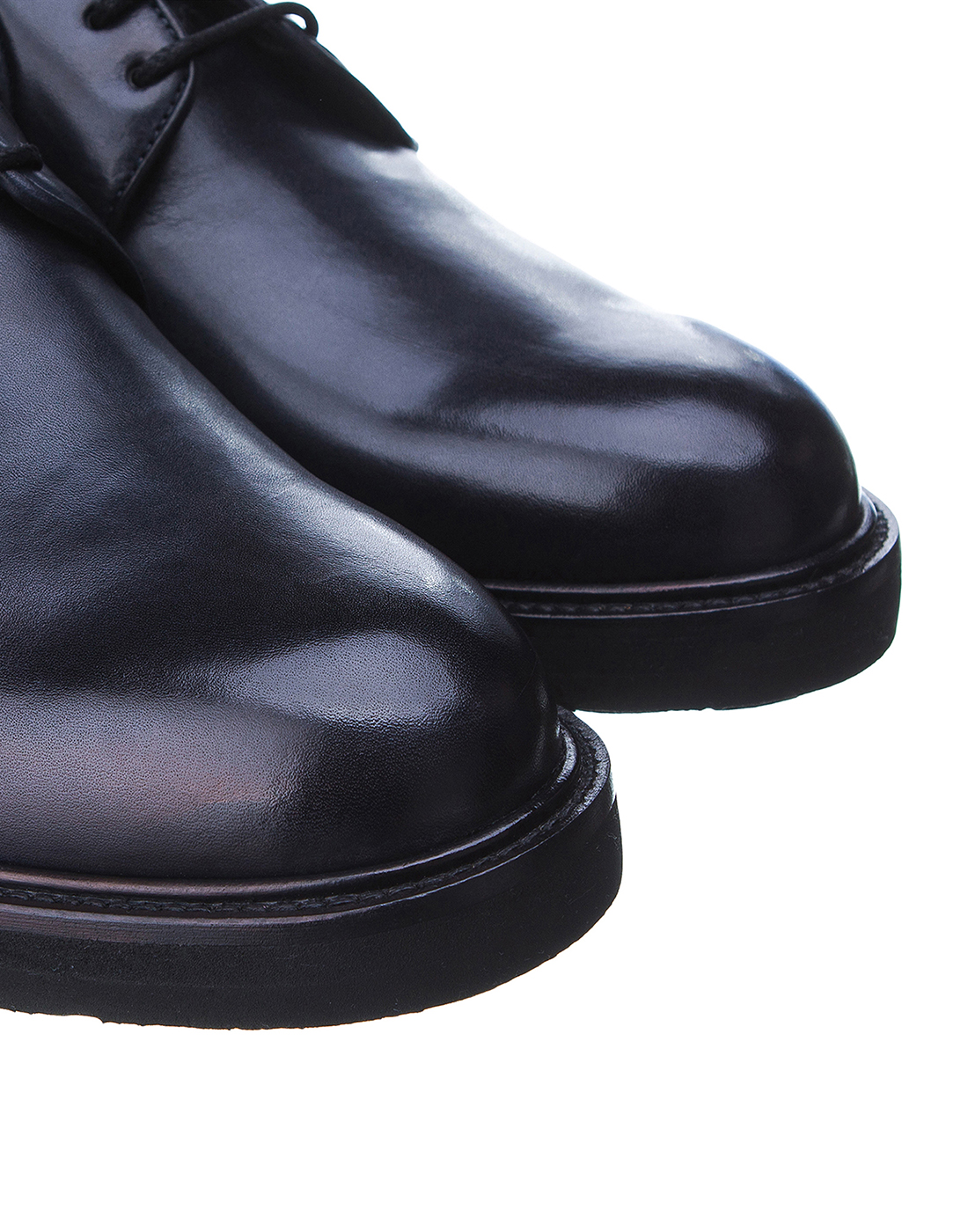 Туфли синие мужские Brecos S8066-4