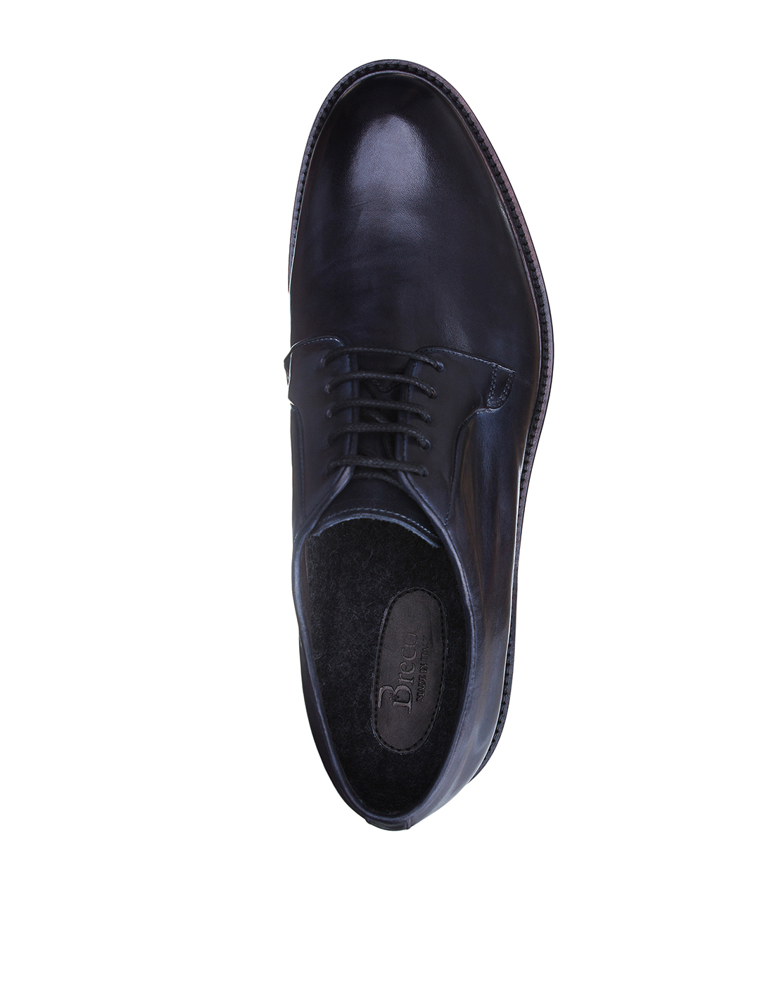 Туфли синие мужские Brecos S8066-5