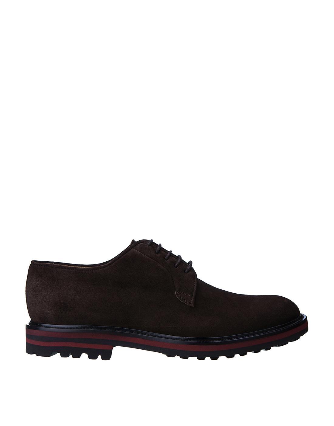Туфли коричневые мужские Brecos S8073-1
