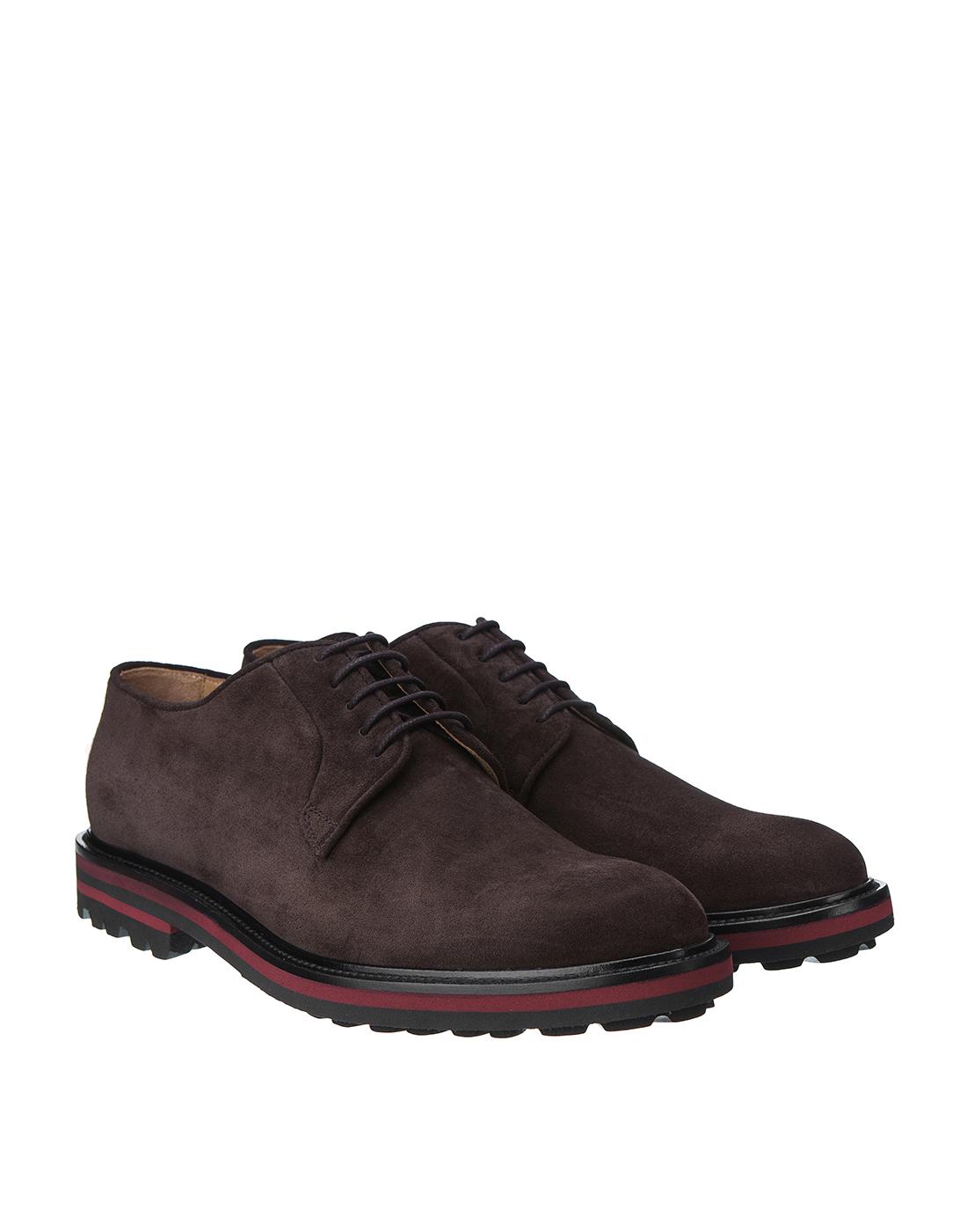 Туфли коричневые мужские Brecos S8073-2