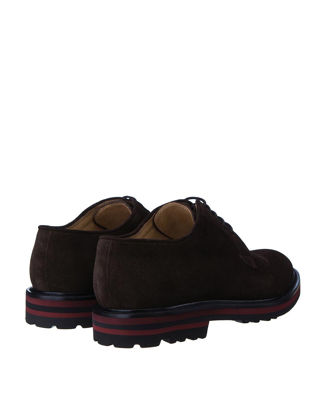 Туфли коричневые мужские Brecos S8073-3