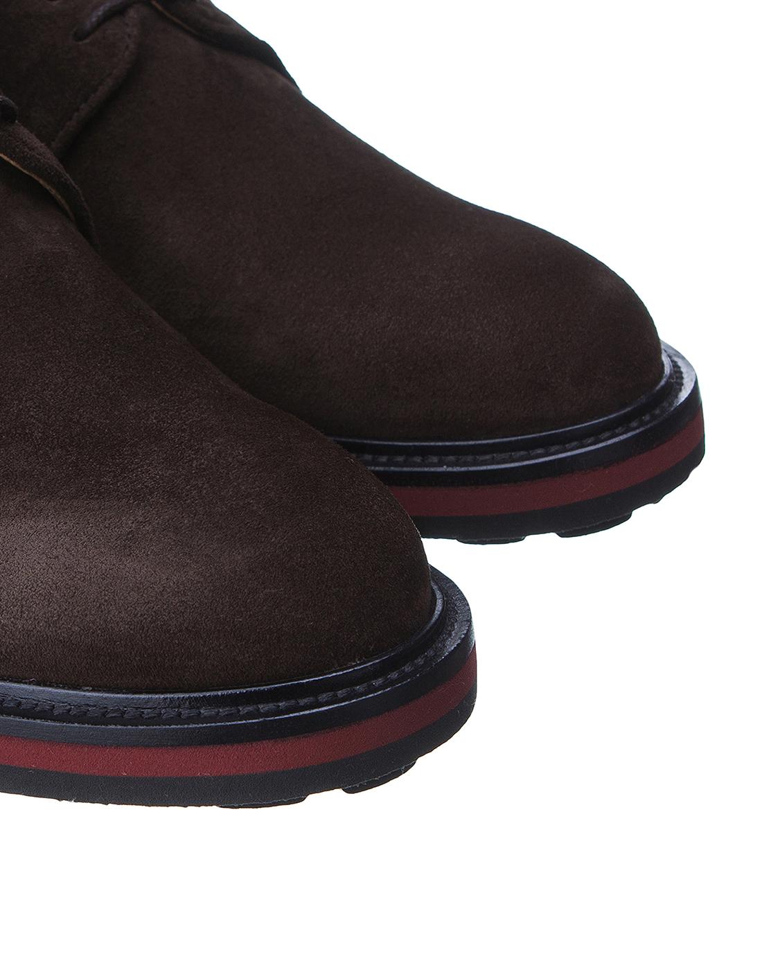 Туфли коричневые мужские Brecos S8073-4