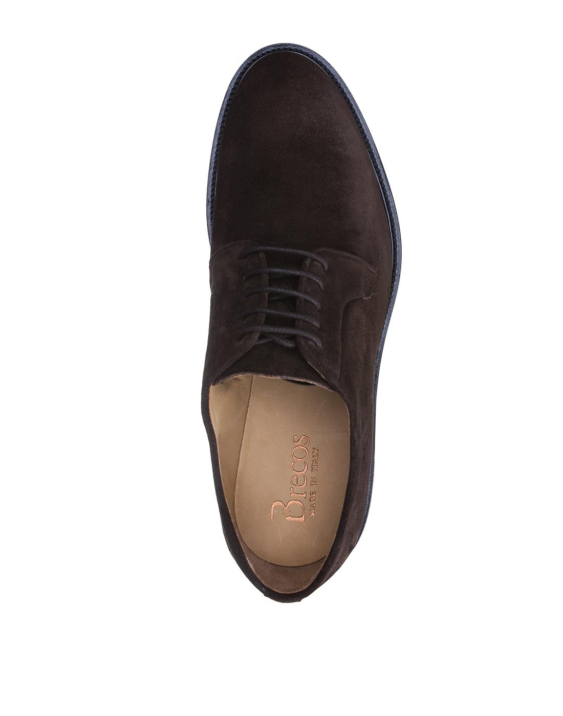 Туфли коричневые мужские Brecos S8073-5