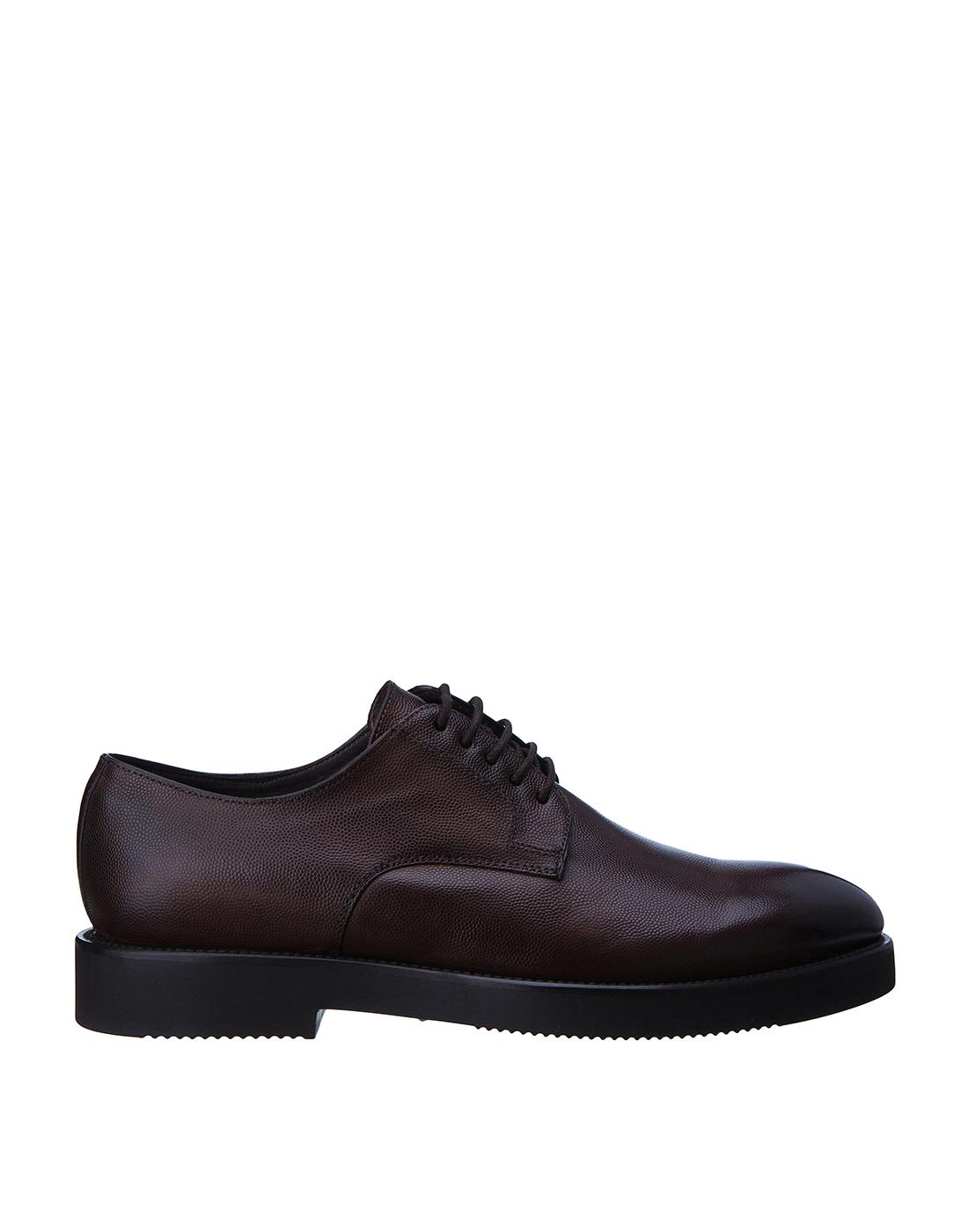 Туфли коричневые мужские Brecos S8109-1