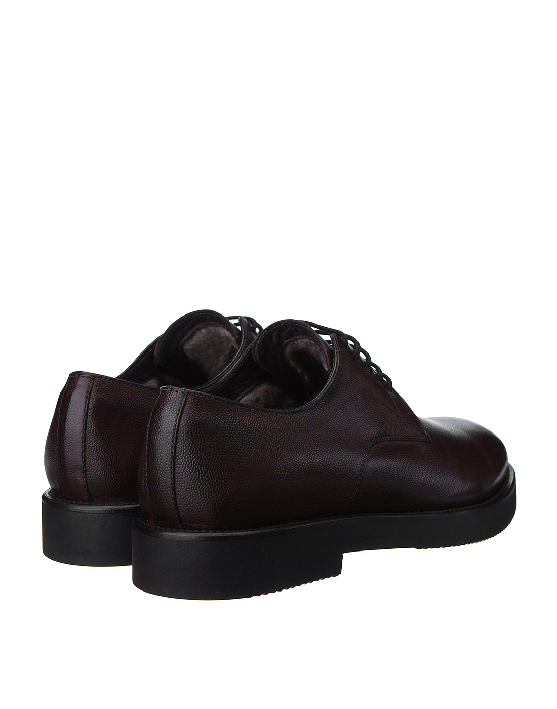 Туфли коричневые мужские Brecos S8109-3