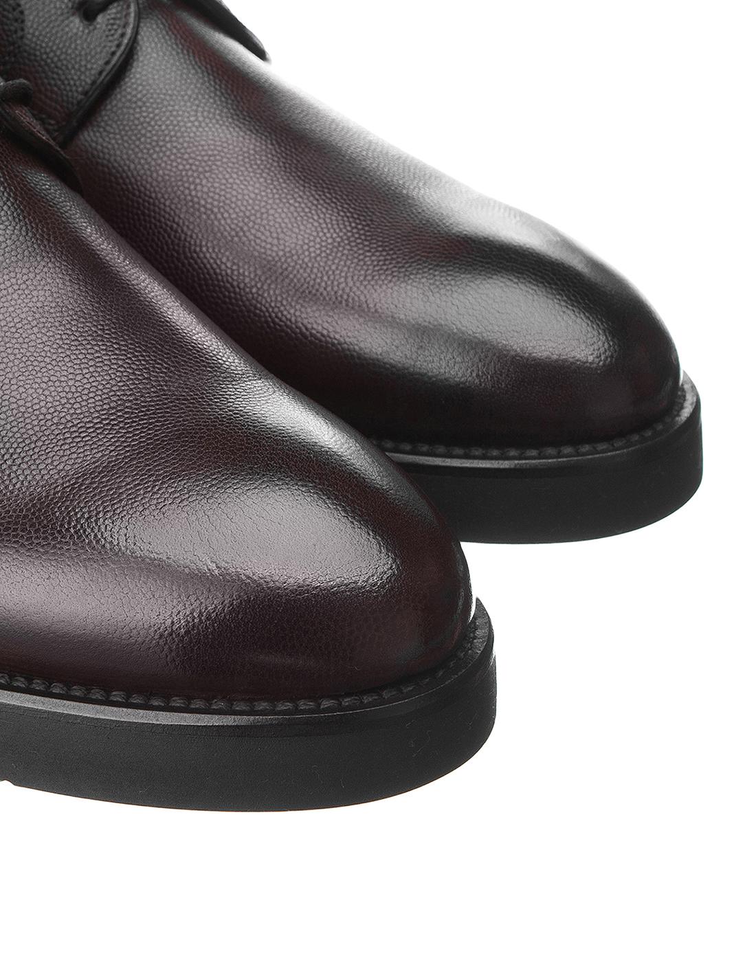 Туфли коричневые мужские Brecos S8109-4