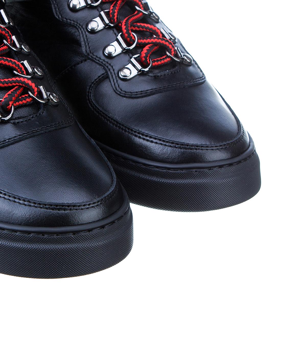 Кроссовки черные мужские John Richmond S8125 VAR A-4
