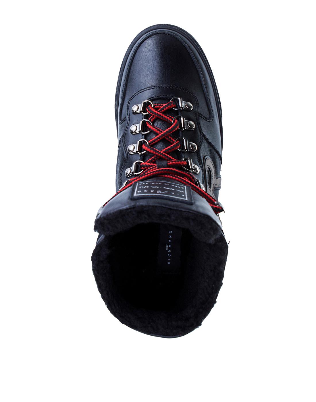Кроссовки черные мужские John Richmond S8125 VAR A-5