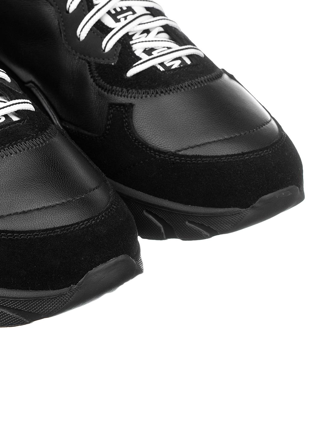 Кроссовки черные мужские
