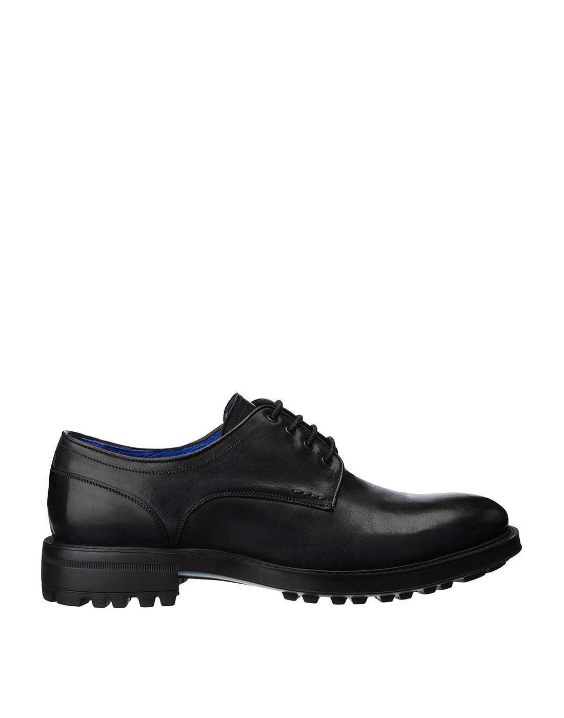 Туфли серые мужские Brecos S8133-1