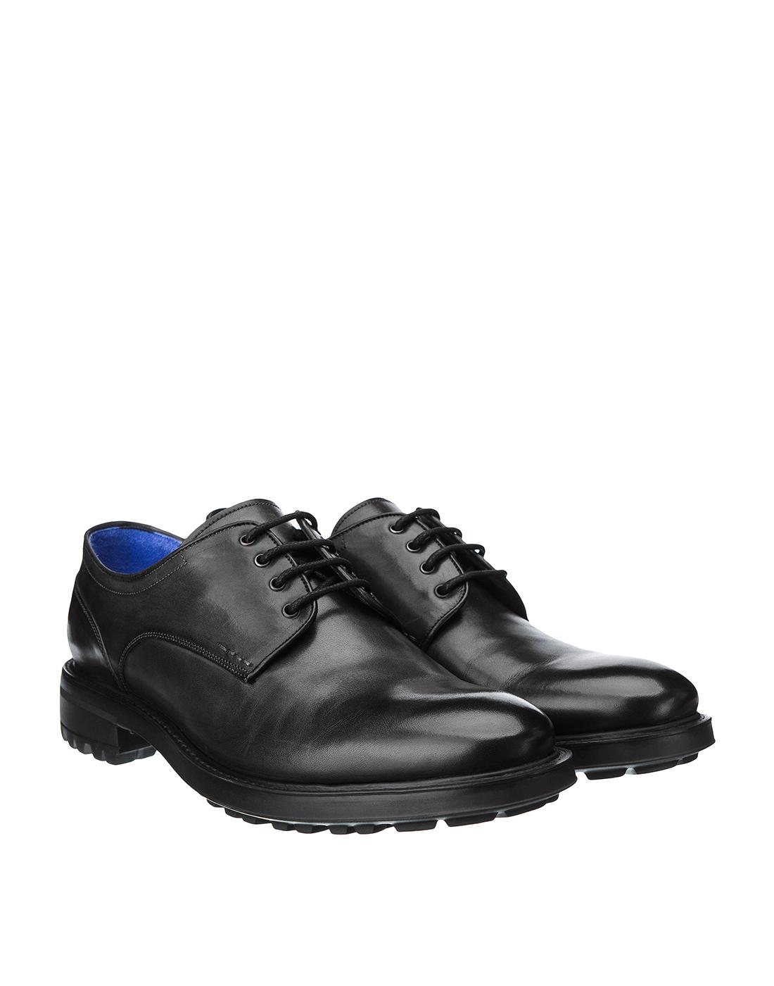 Туфли серые мужские Brecos S8133-2