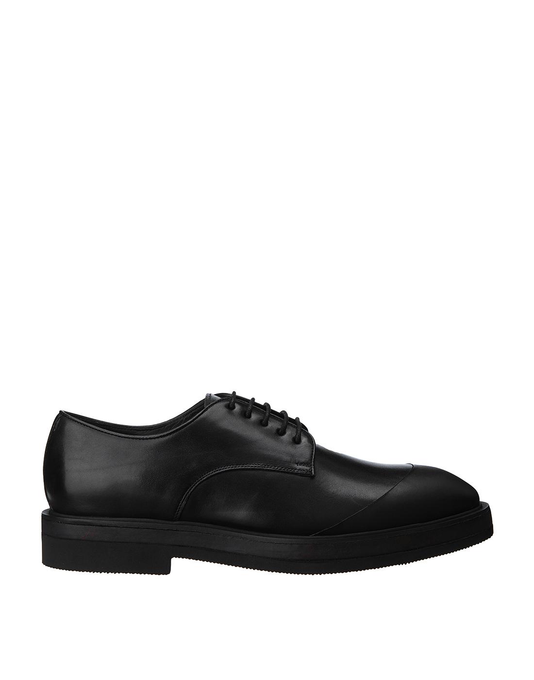 Туфли черные мужские Brecos S8192-1