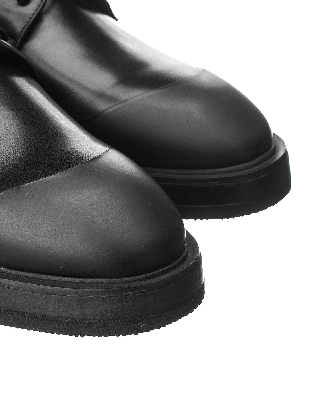 Туфли черные мужские Brecos S8192-4