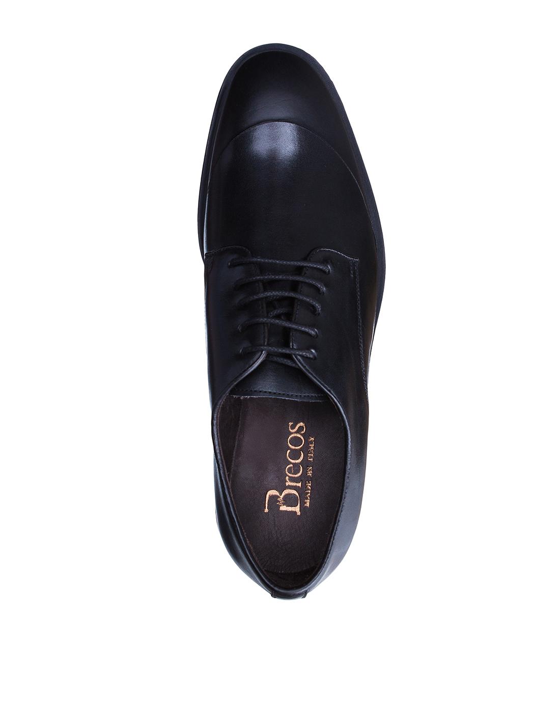 Туфли черные мужские Brecos S8192-5
