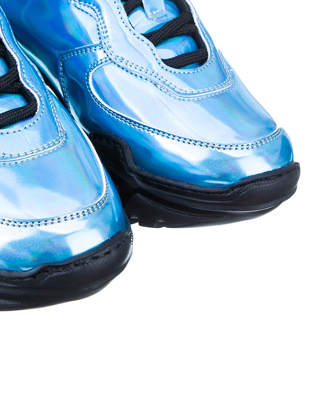 Кроссовки голубые женские