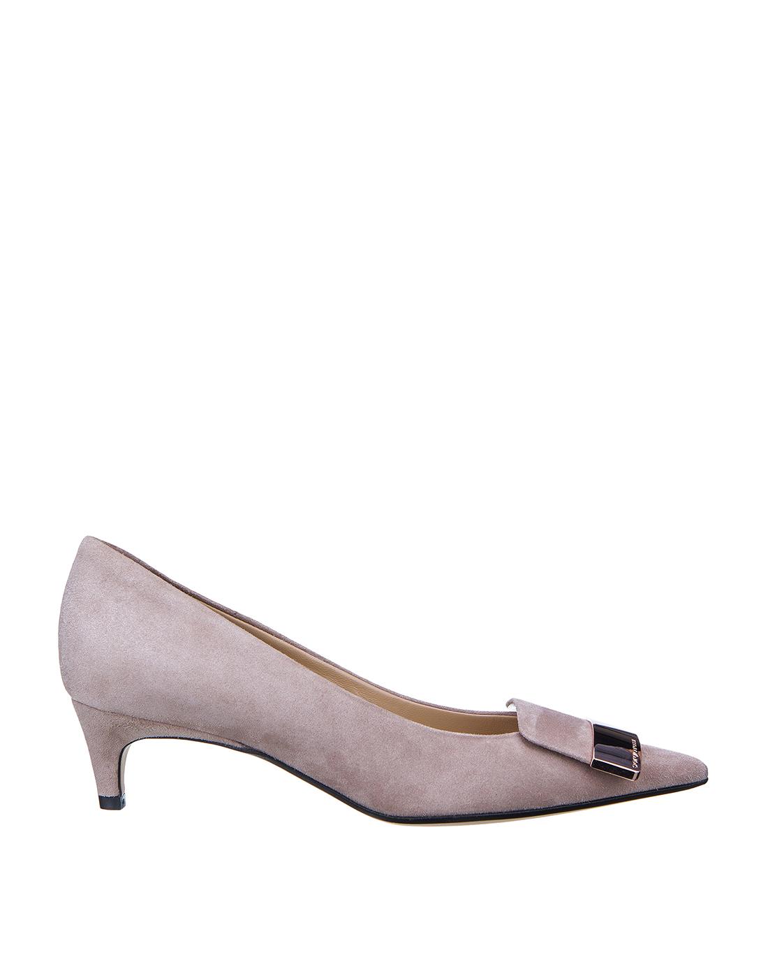 Туфли бежевые женские Sergio Rossi SA78952-1