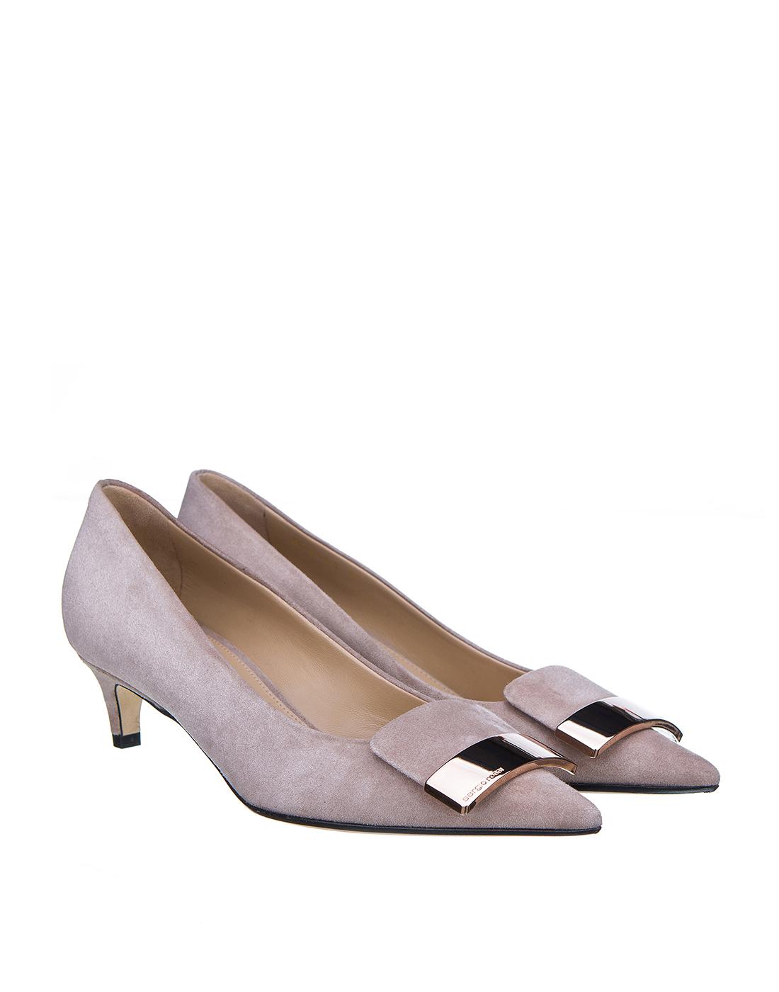 Туфли бежевые женские Sergio Rossi SA78952-2