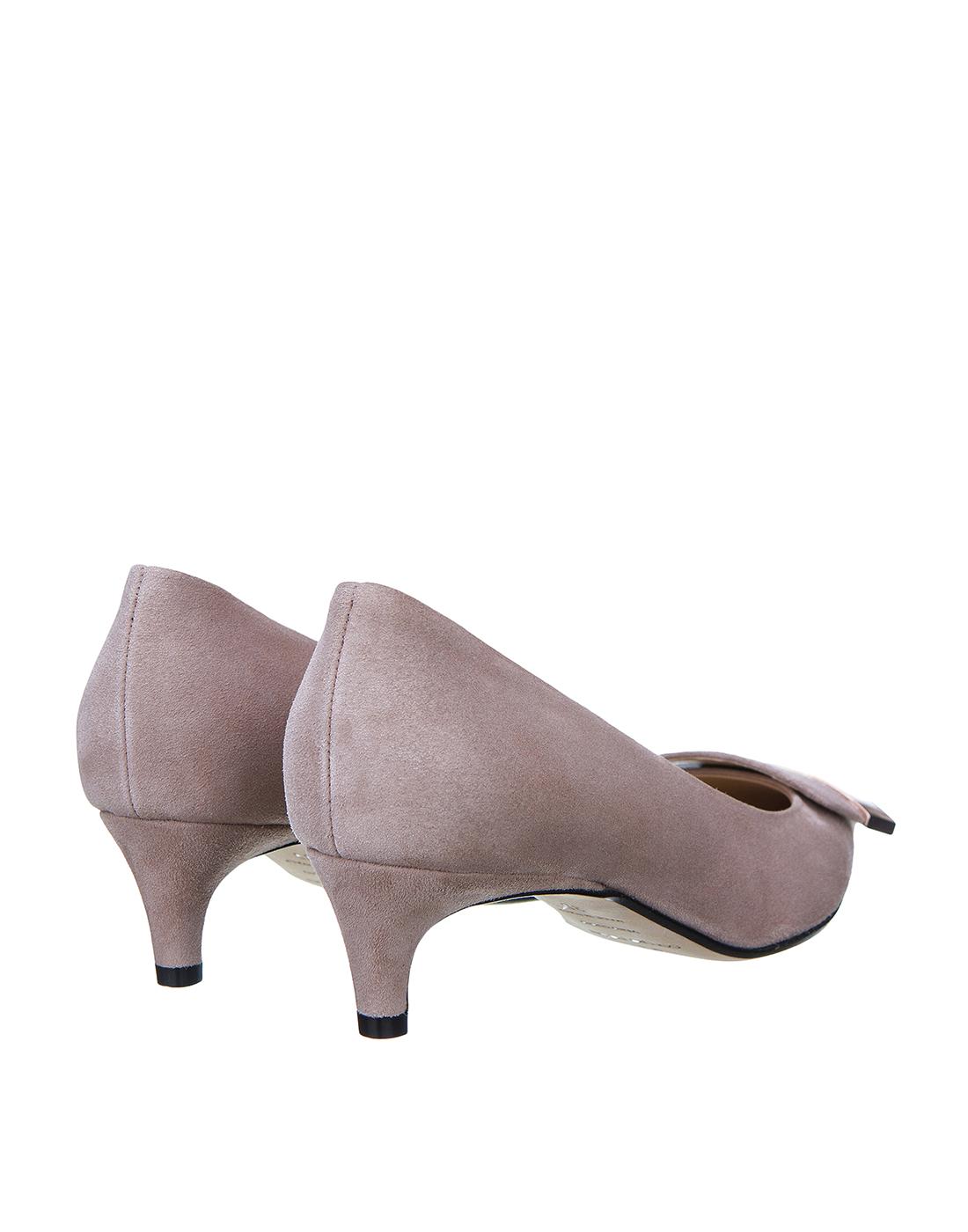 Туфли бежевые женские Sergio Rossi SA78952-3