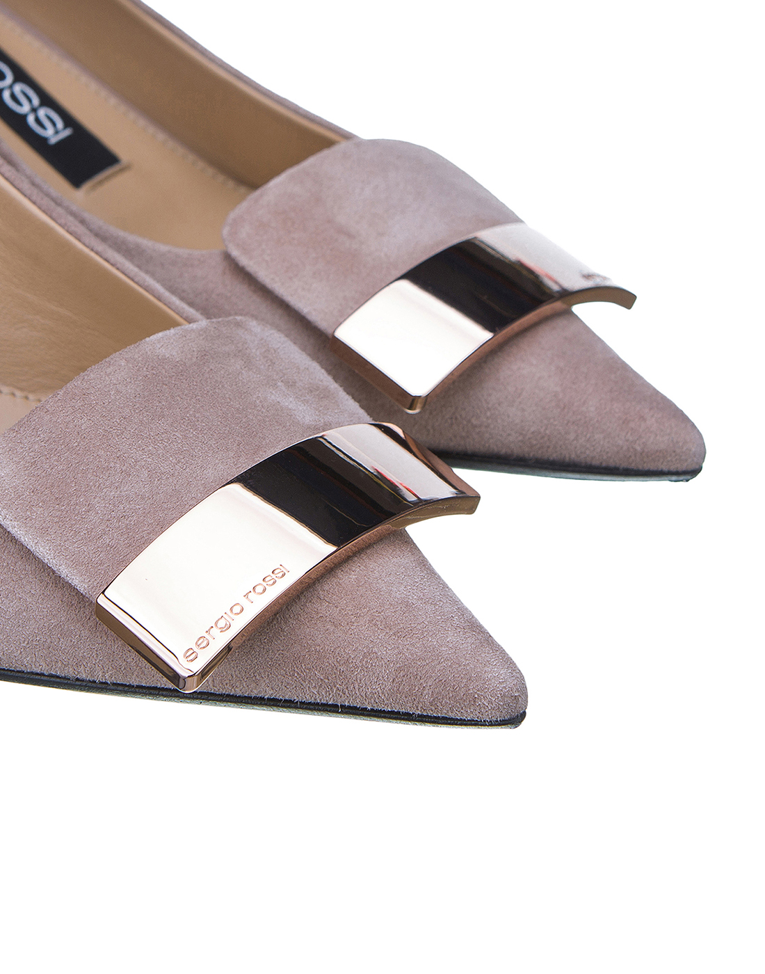 Туфли бежевые женские Sergio Rossi SA78952-4