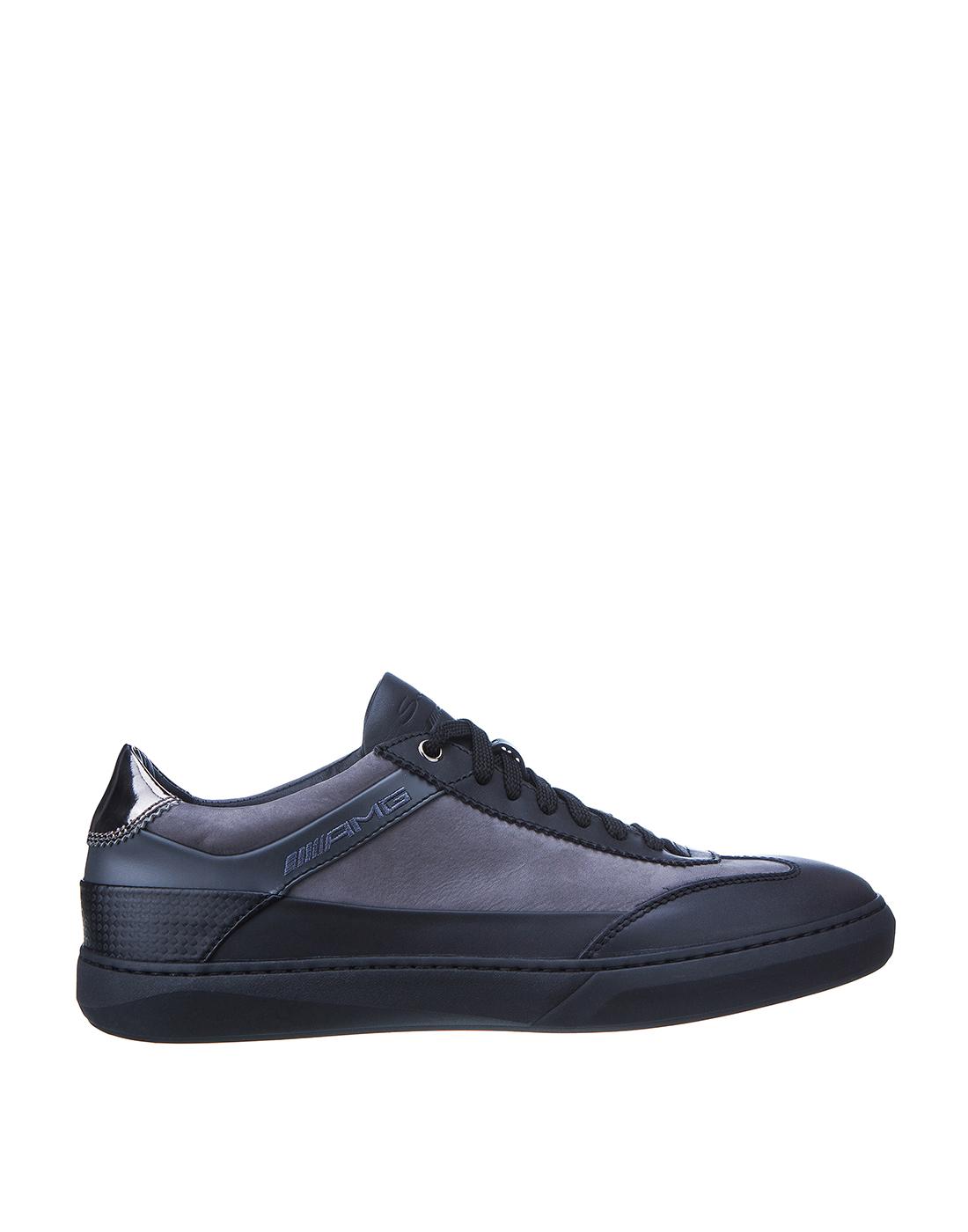 Кроссовки серые мужские Santoni SMSAM21201NEORSFYG62-1