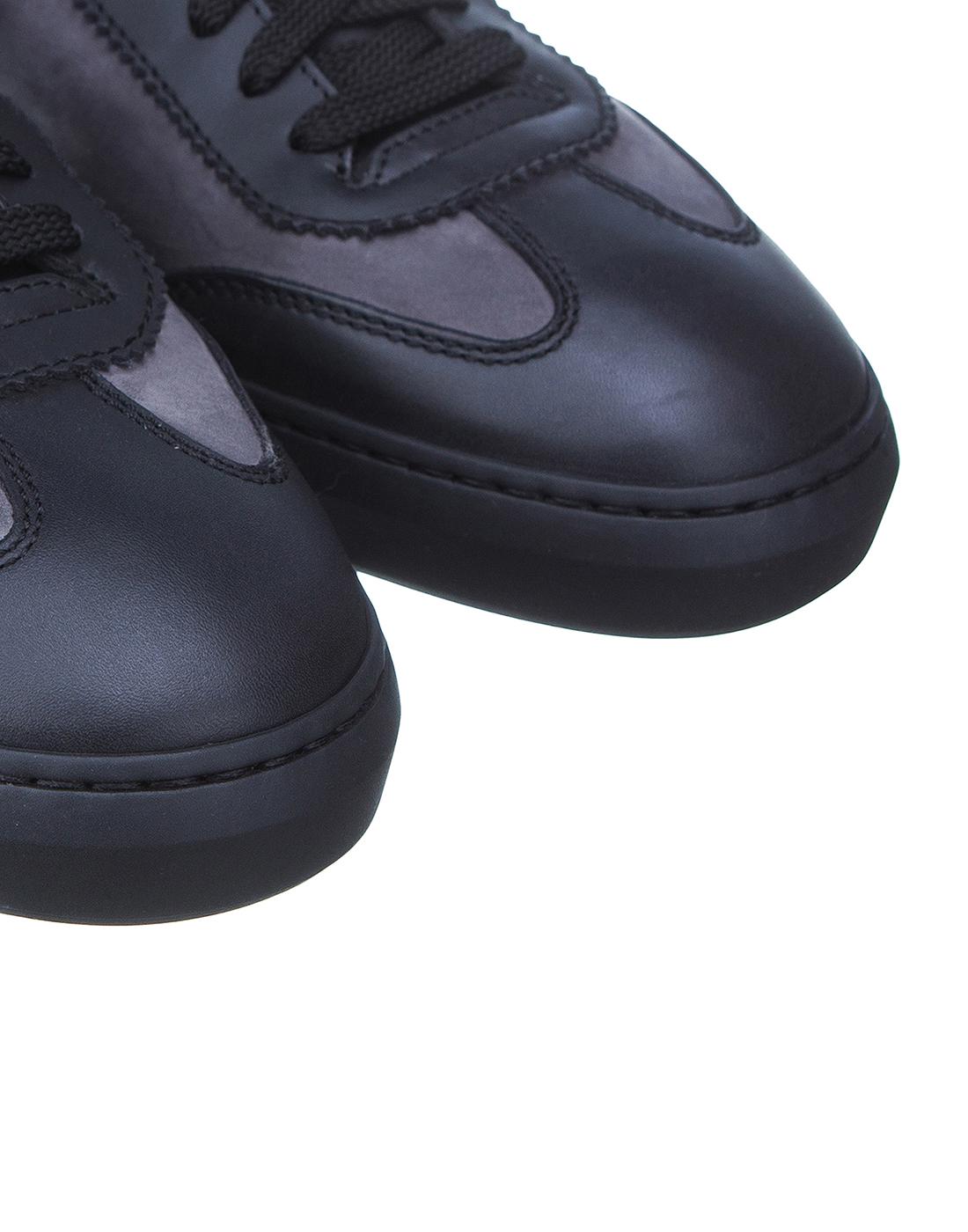 Кроссовки серые мужские Santoni SMSAM21201NEORSFYG62-4