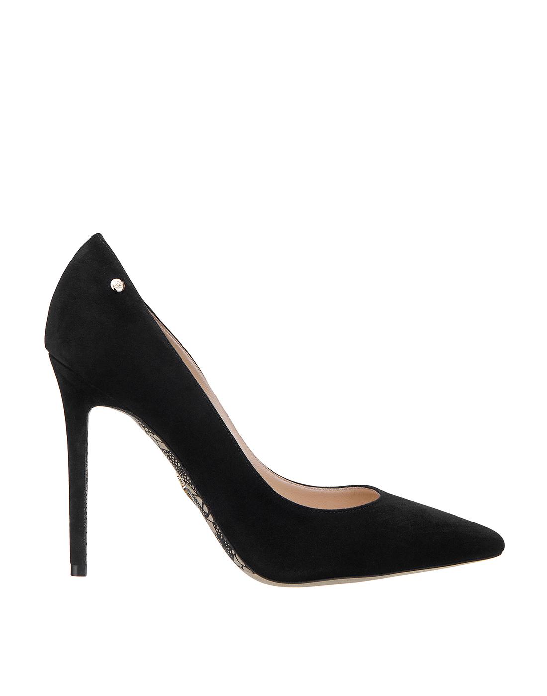 Туфли черные женские Cesare Paciotti S502715 999-1