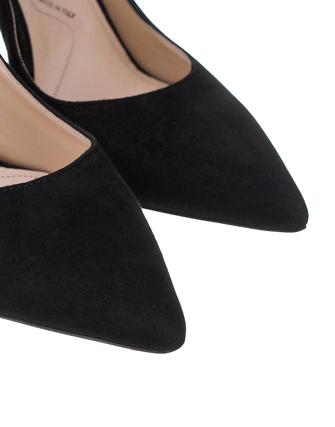Туфли черные женские Cesare Paciotti S502715 999-4