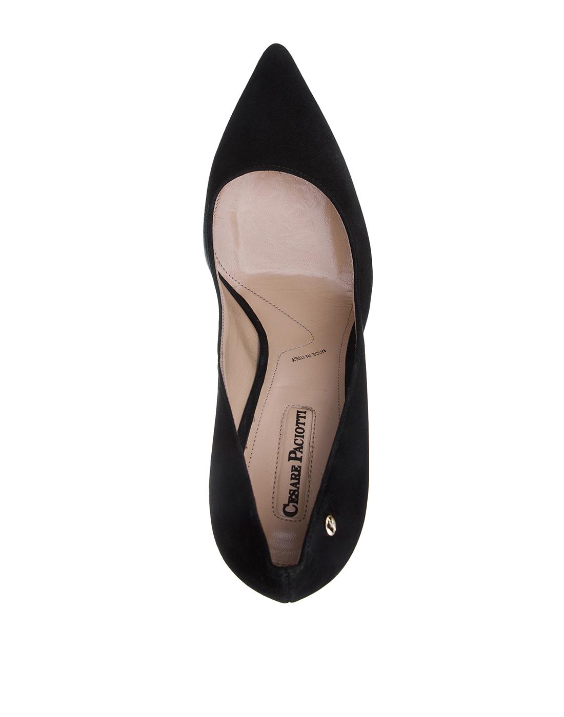 Туфли черные женские Cesare Paciotti S502715 999-5