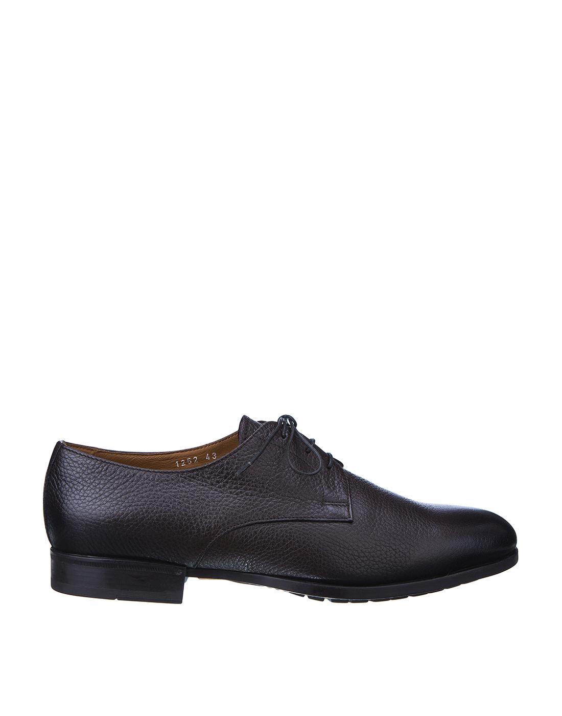 Туфли коричневые мужские Doucal's SU1252 019-1