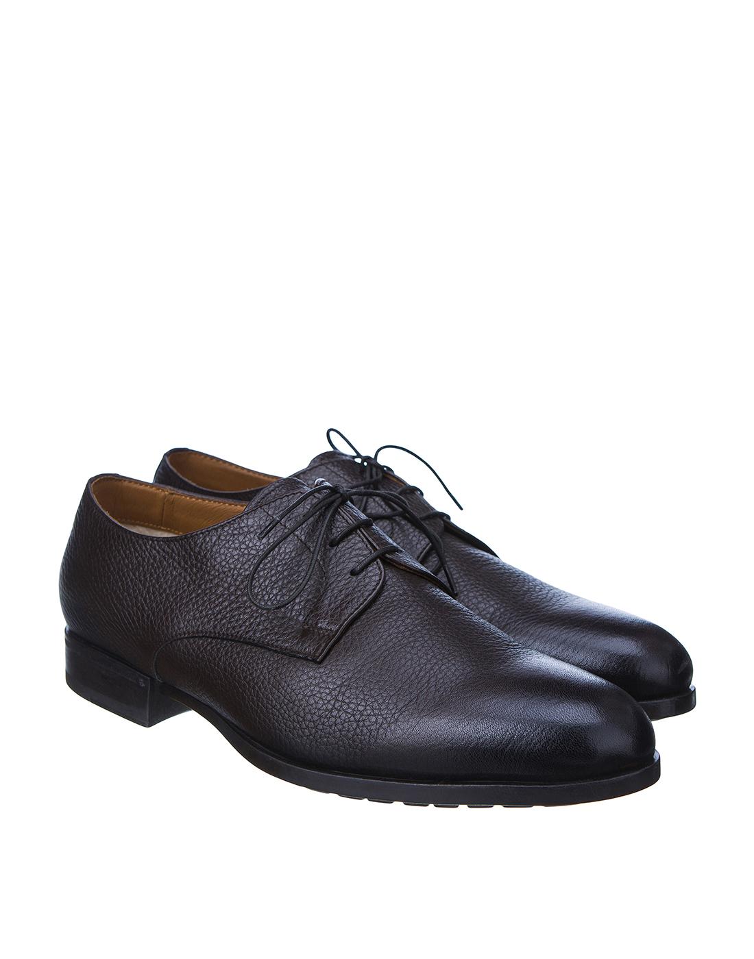Туфли коричневые мужские Doucal's SU1252 019-2
