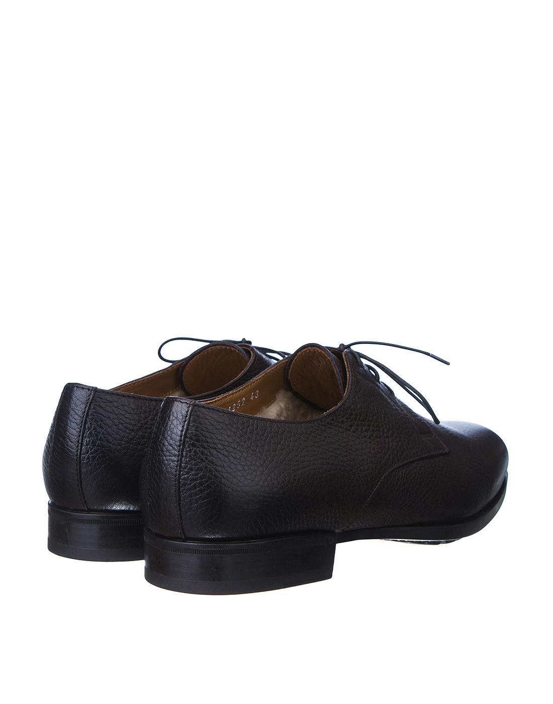 Туфли коричневые мужские Doucal's SU1252 019-3