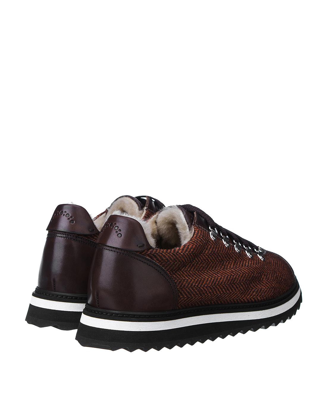 Кроссовки коричневые мужские Doucal's SU2156 03-3