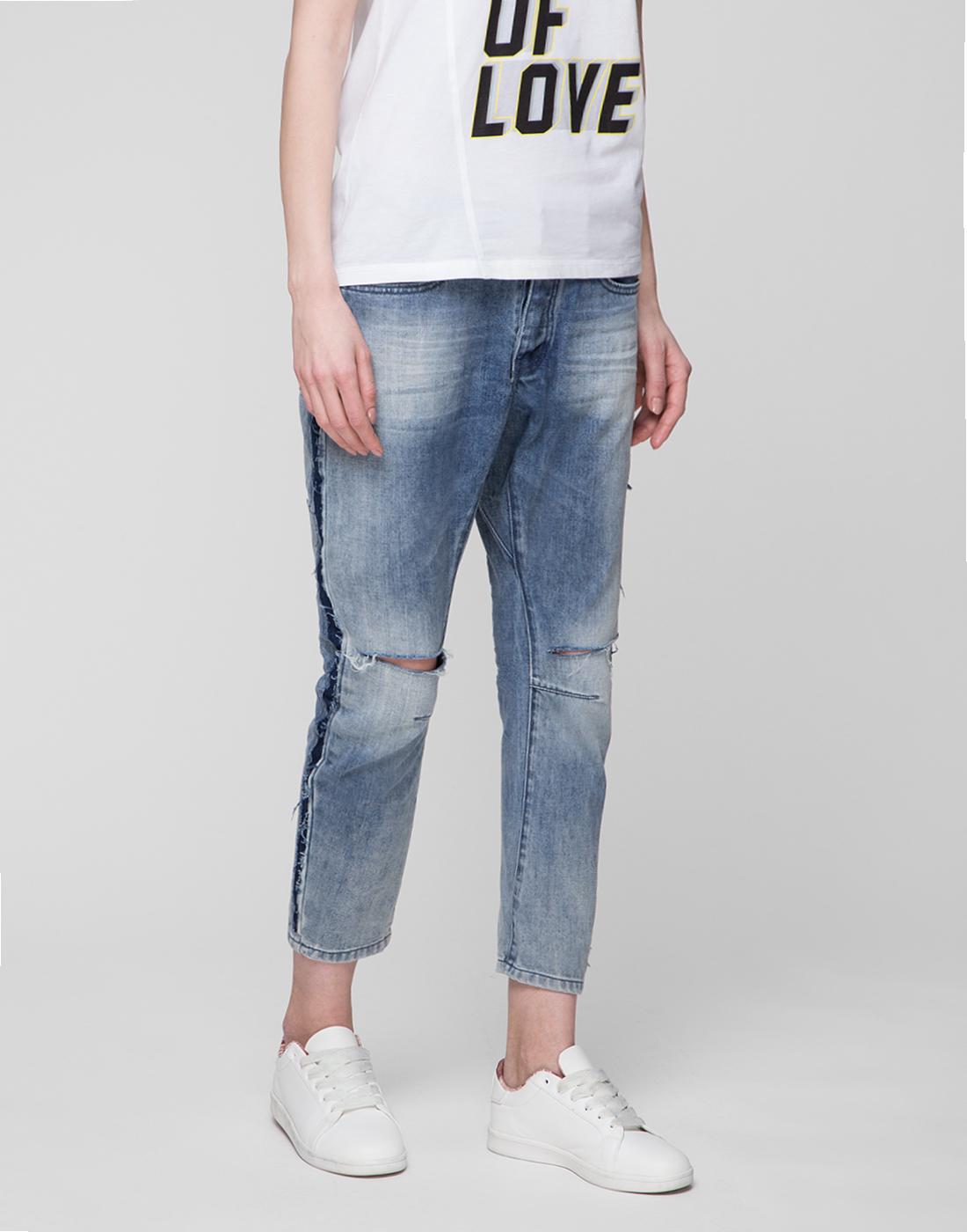 Женские голубые джинсы Oneteaspoon S20051-3