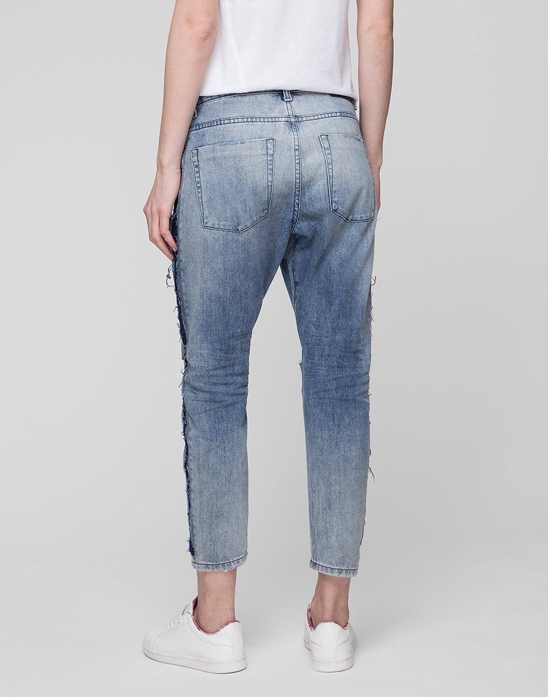 Женские голубые джинсы Oneteaspoon S20051-4